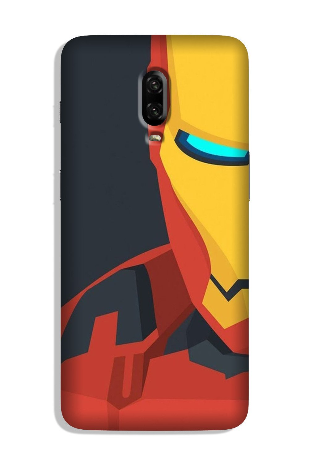 Iron Man Superhero Case for OnePlus 6T  (Design - 120)