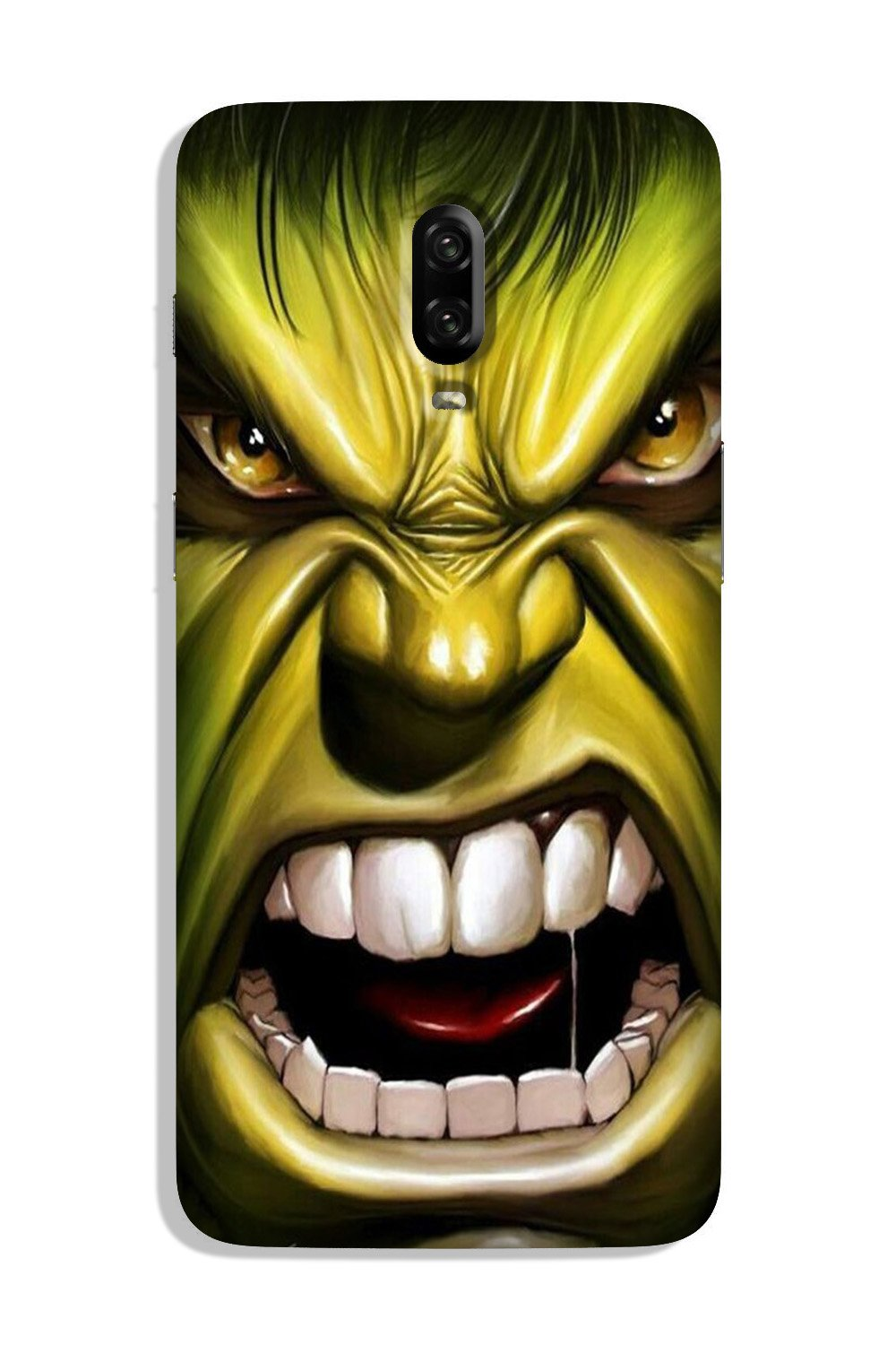 Hulk Superhero Case for OnePlus 6T  (Design - 121)