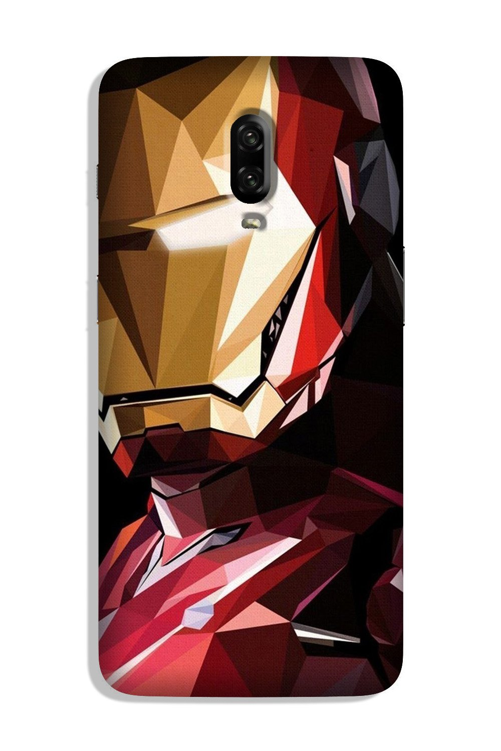 Iron Man Superhero Case for OnePlus 6T  (Design - 122)