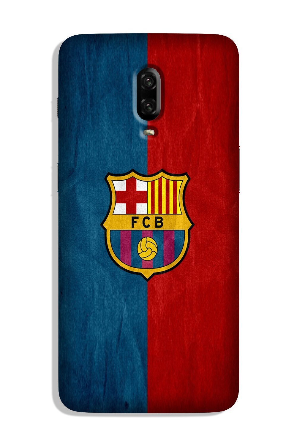 FCB Football Case for OnePlus 6T  (Design - 123)