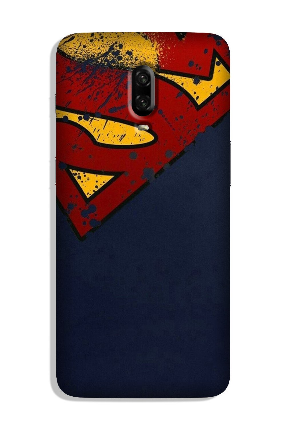 Superman Superhero Case for OnePlus 6T  (Design - 125)