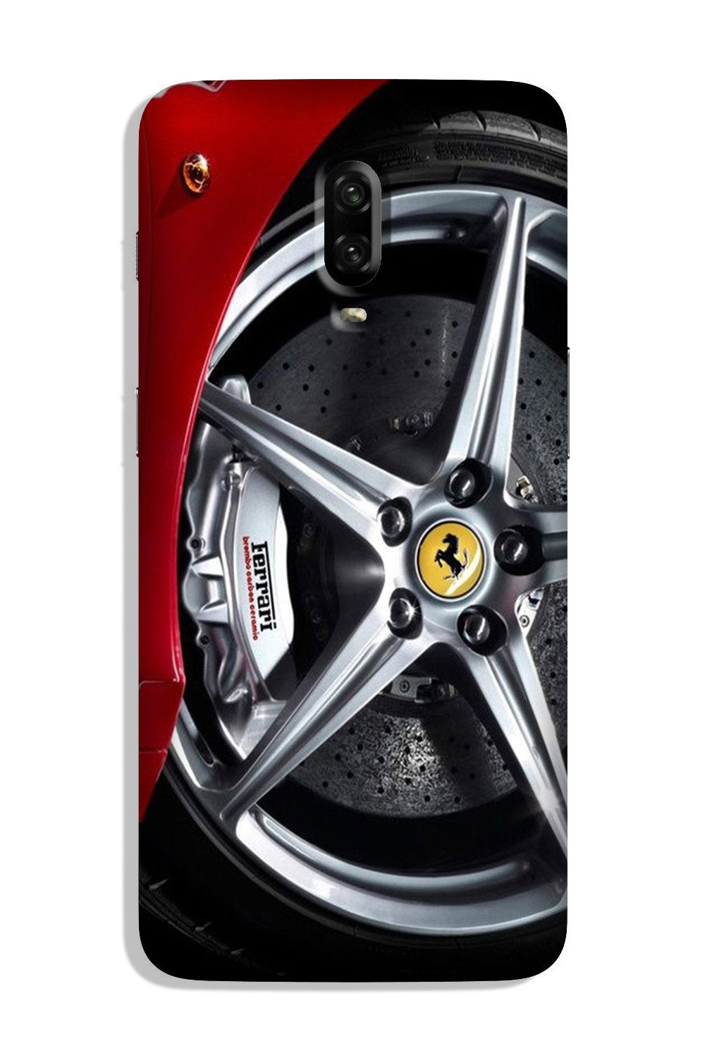Ferari  Case for OnePlus 6T  (Design - 133)