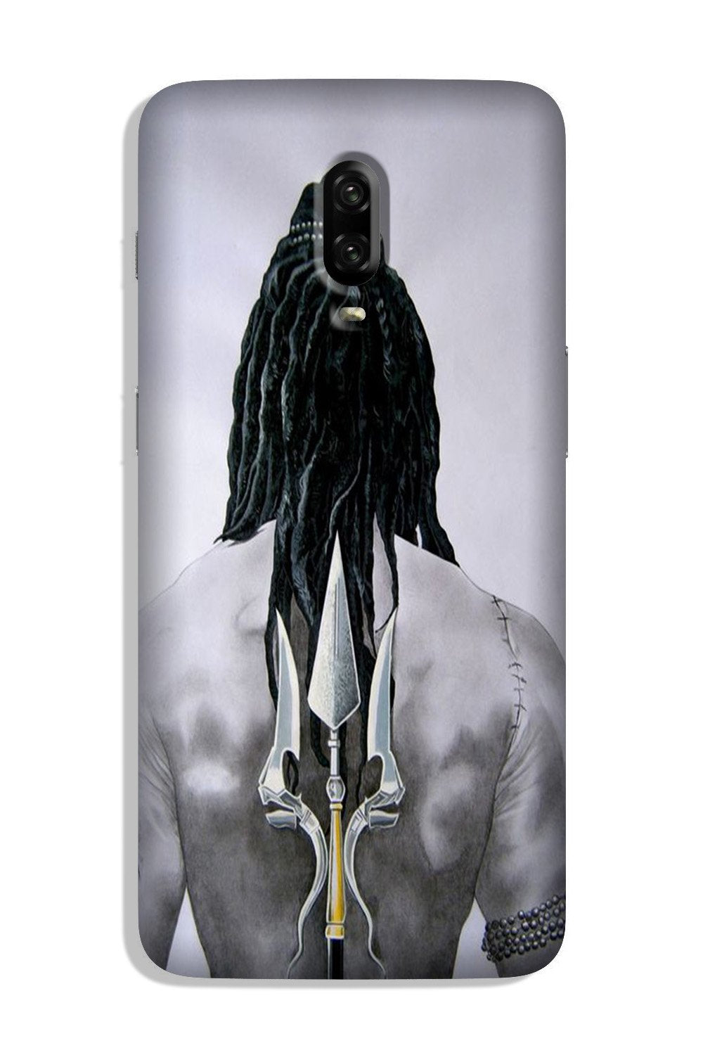 Lord Shiva Case for OnePlus 6T  (Design - 135)