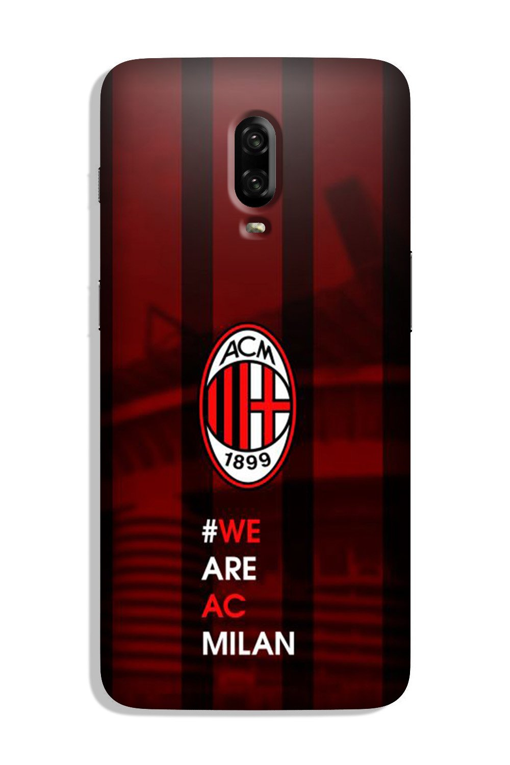 AC Milan Case for OnePlus 6T  (Design - 155)