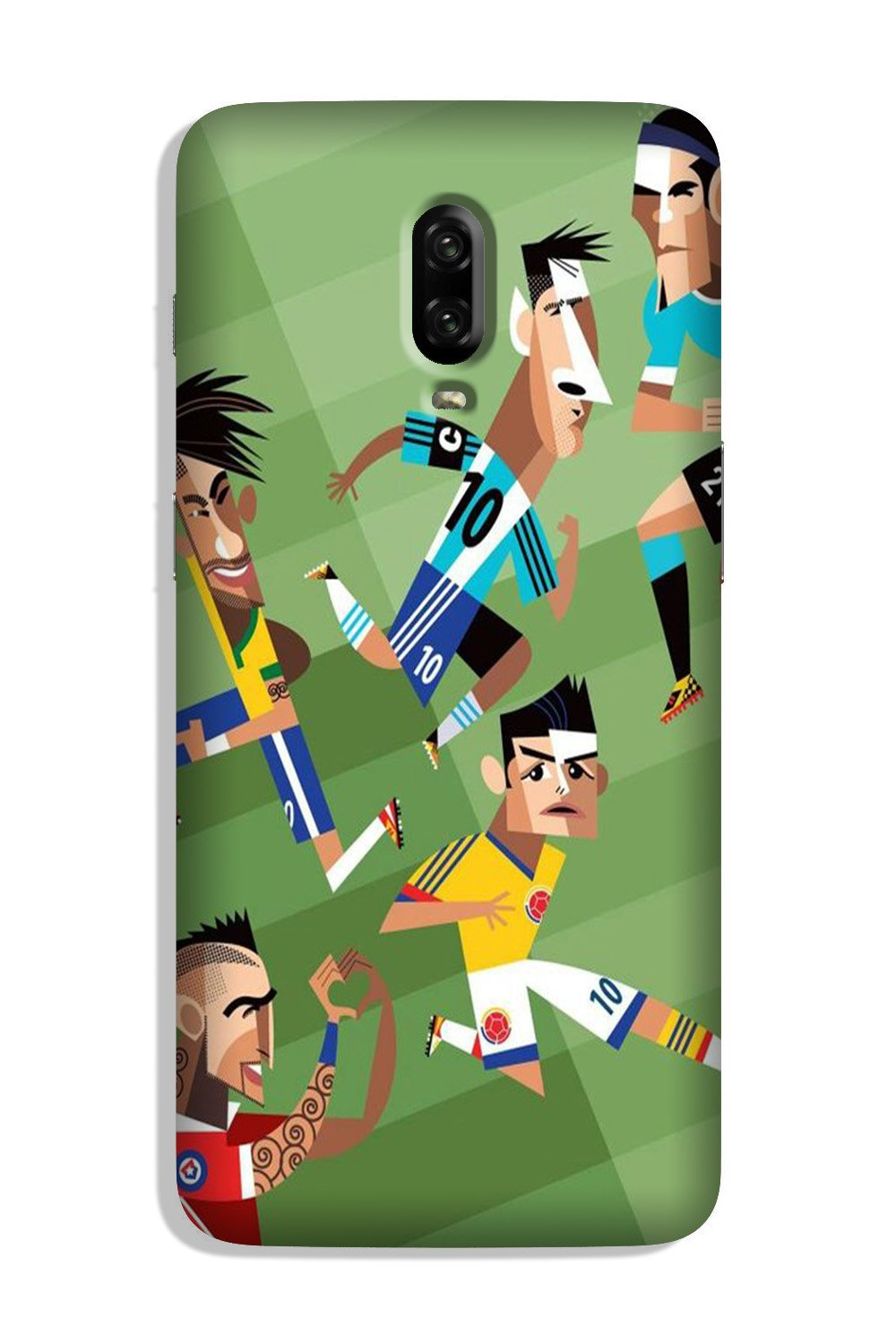 Football Case for OnePlus 6T  (Design - 166)