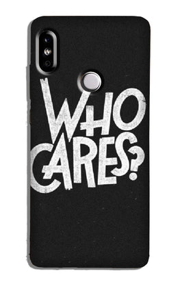 Who Cares Case for Redmi Y2