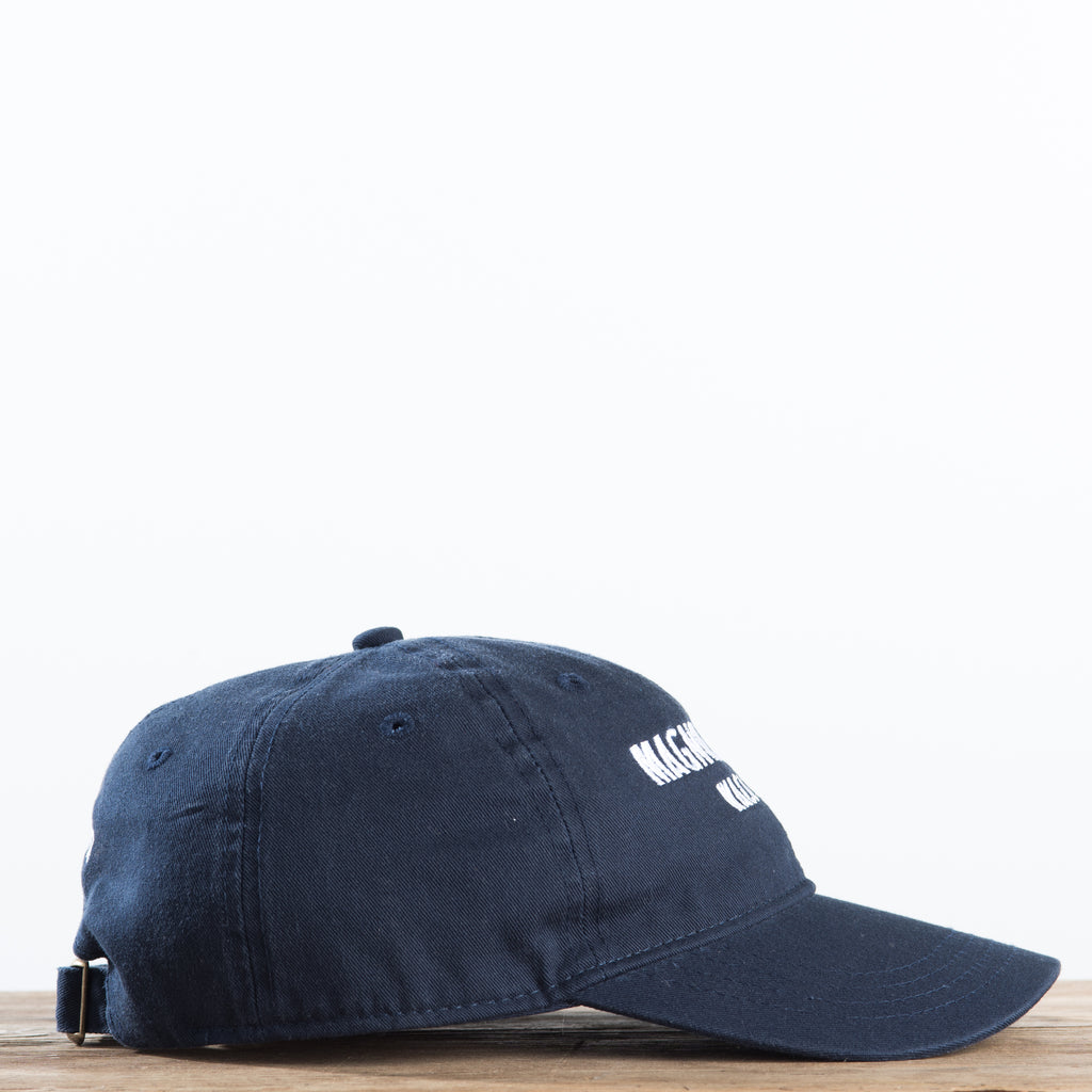 navy magnolia table hat
