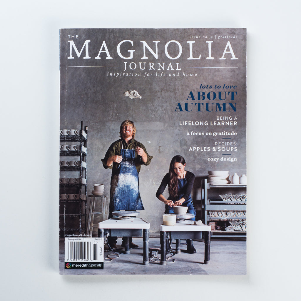 the magnolia journal fall 2017 issue