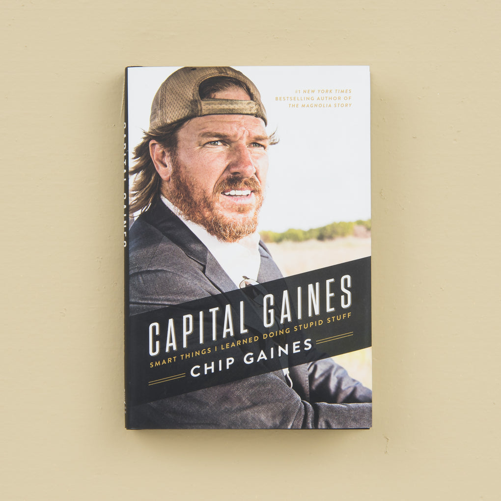 Capital Gaines book by Chip Gaines