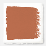 muted burnt orange chalk paint