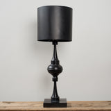 black metal decorative table lamp