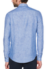 Original Penguin Leo Linen L/S Shirt in Royal