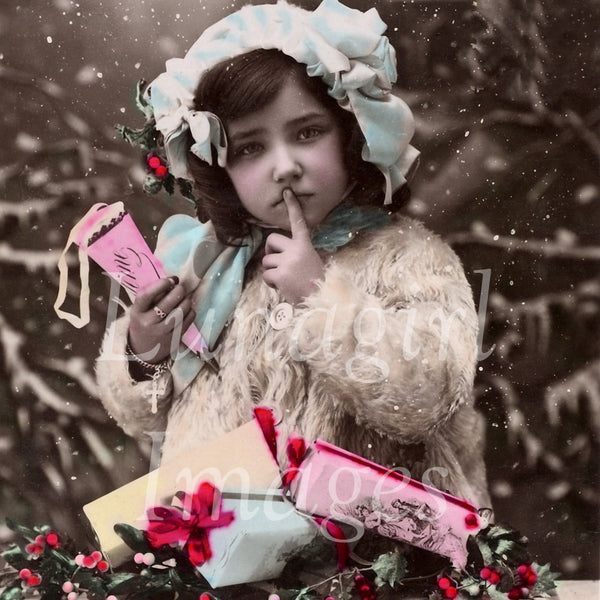 Christmas New Years Photos Postcards: 250 Images