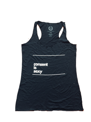 Consent Is Sexy Tank Top | Unisex