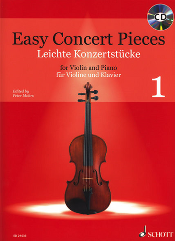 Easy Concert Pieces for Violin and Piano 1