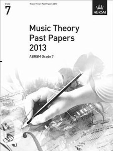 ABRSM Music Theory Past Papers Grade 7 2013