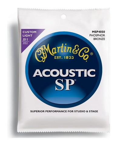 Martin Acoustic SP MSP4050 Phosphor Bronze Custom Light Strings