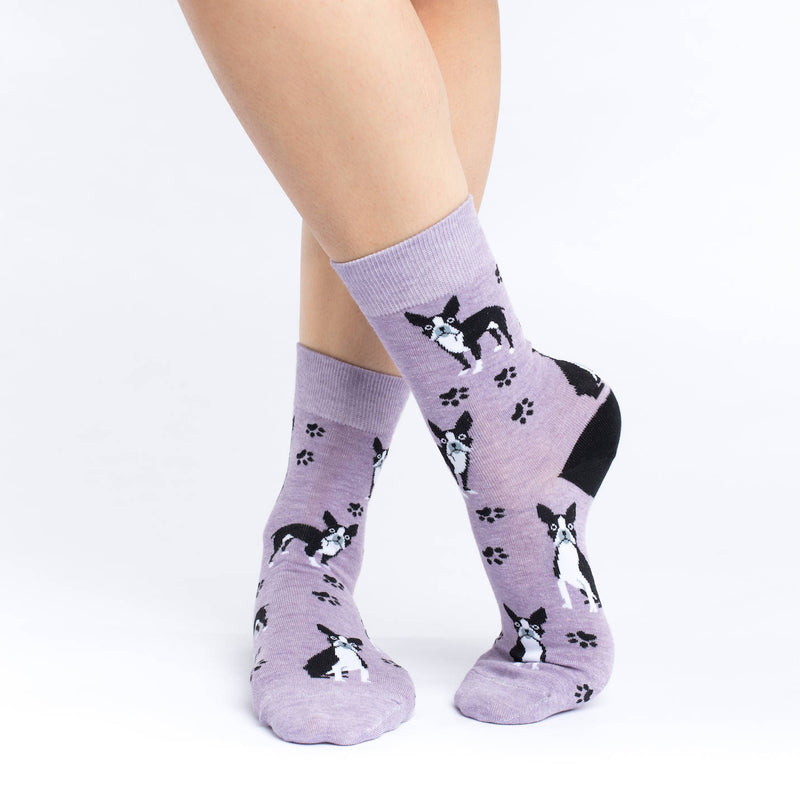 Women's Boston Terrier Socks