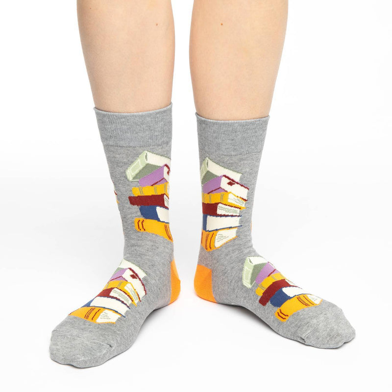 Women's Stack of Books Socks
