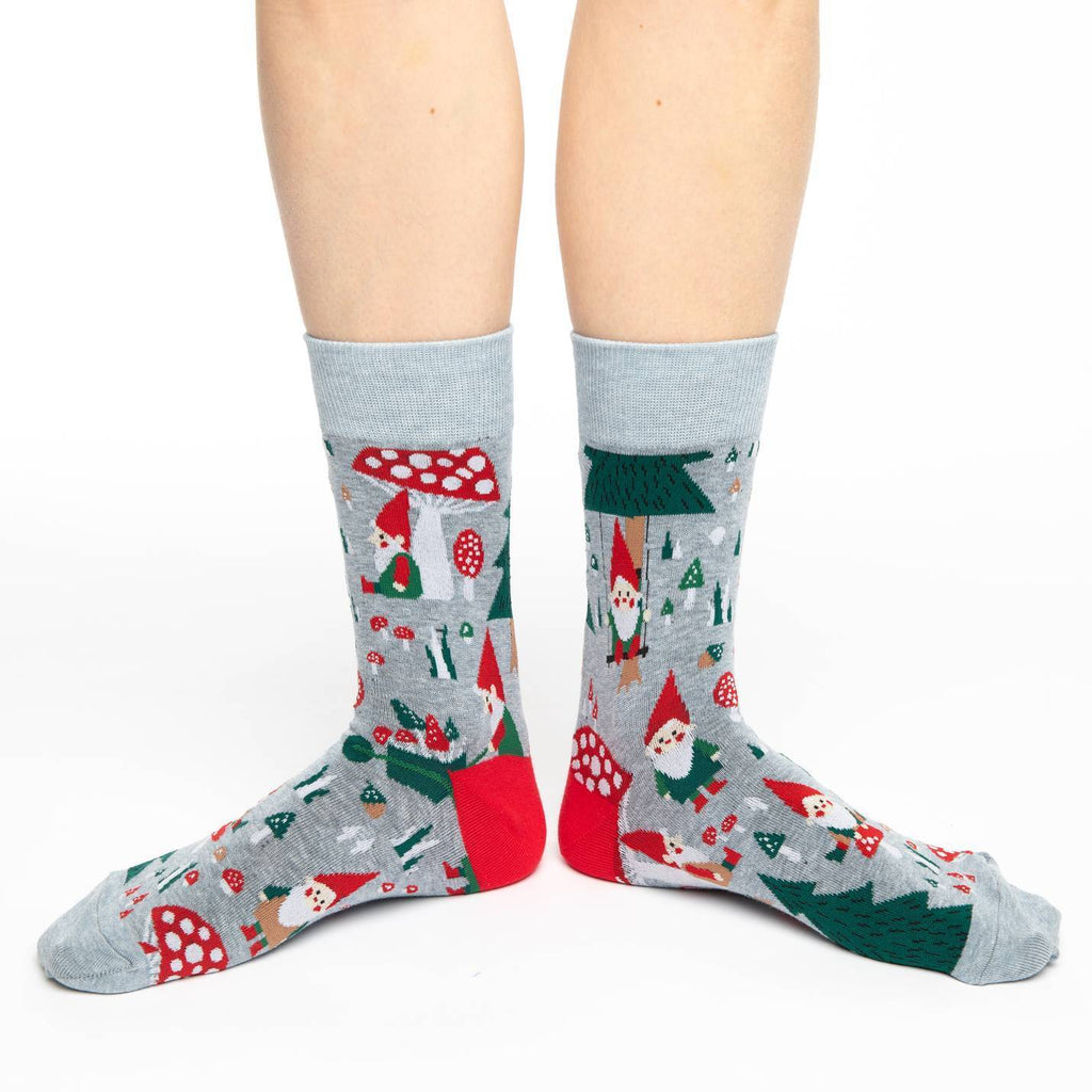 Women's Woodland Gnomes Socks