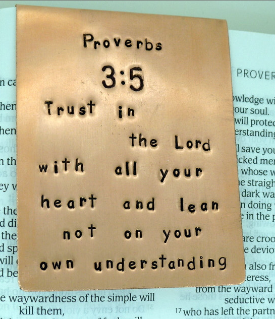 Proverbs 3:5 Bookmark