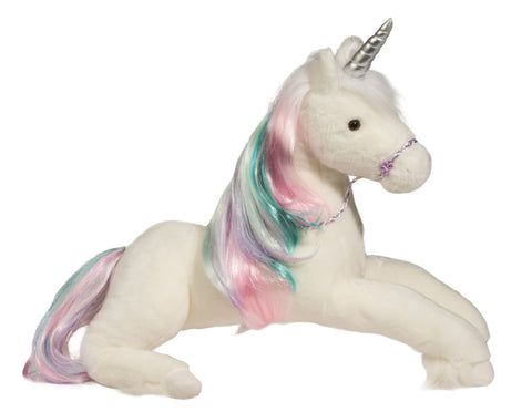 Douglas Rainbow Princess Unicorn Large