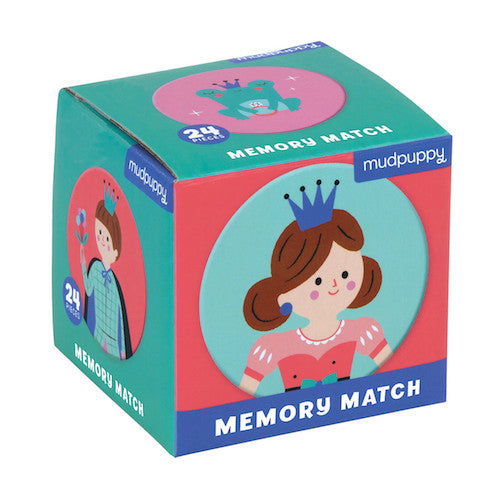 Mudpuppy Memory Match Enchanting Princess