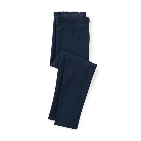 Tea Collection Solid Leggings Heritage Blue