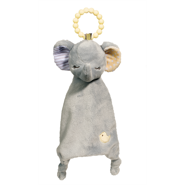 Douglas Baby Gray Elephant Lil' Sshlumpie Teether