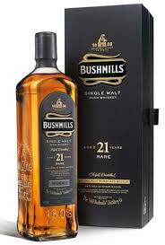 BUSHMILLS 21 YEAR OLD IRISH SINGLE MALT