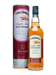 TYRCONNELL 10 YR OLD PORT FINISH IRISH SINGLE MALT WHISKEY