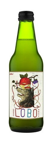 LOBO CLOUDY APPLE CIDER 330ML X 24