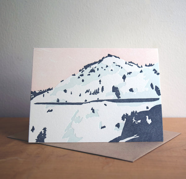 Donner Summit, Truckee, Card