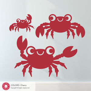 Crab Wall Decals