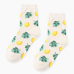 Funky Fruit Crew Socks