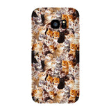 Kitty Invasion Smartphone Case-Gooten-Samsung S7 Edge-| All-Over-Print Everywhere - Designed to Make You Smile