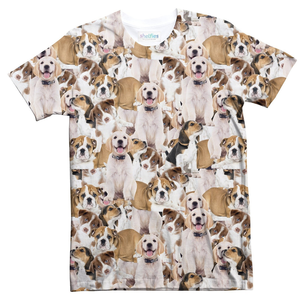 Doggy Invasion T-Shirt-kite.ly-| All-Over-Print Everywhere - Designed to Make You Smile