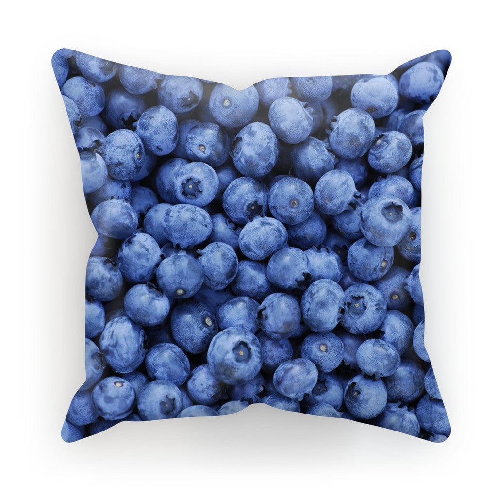 "Blueberry Invasion Cushion-kite.ly-18""x18""-