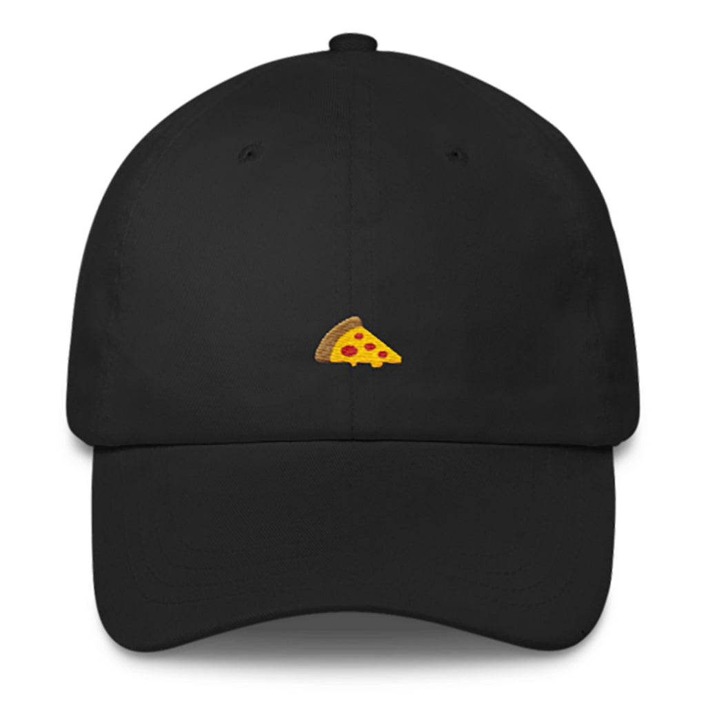 Pizza Dad Hat-Shelfies-Black-| All-Over-Print Everywhere - Designed to Make You Smile