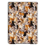 Kitty Invasion iPad Case-kite.ly-iPad Air-| All-Over-Print Everywhere - Designed to Make You Smile