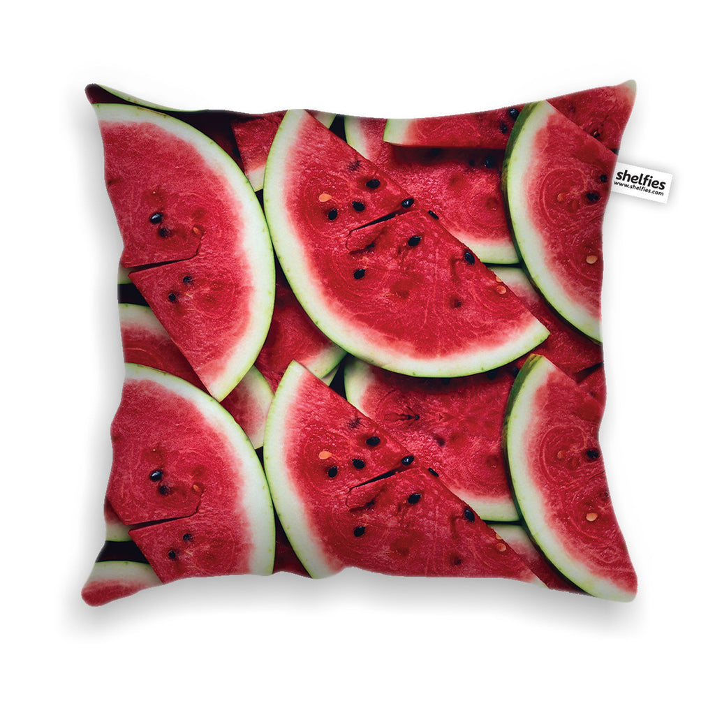 Watermelon Invasion Throw Pillow Case-Shelfies-| All-Over-Print Everywhere - Designed to Make You Smile