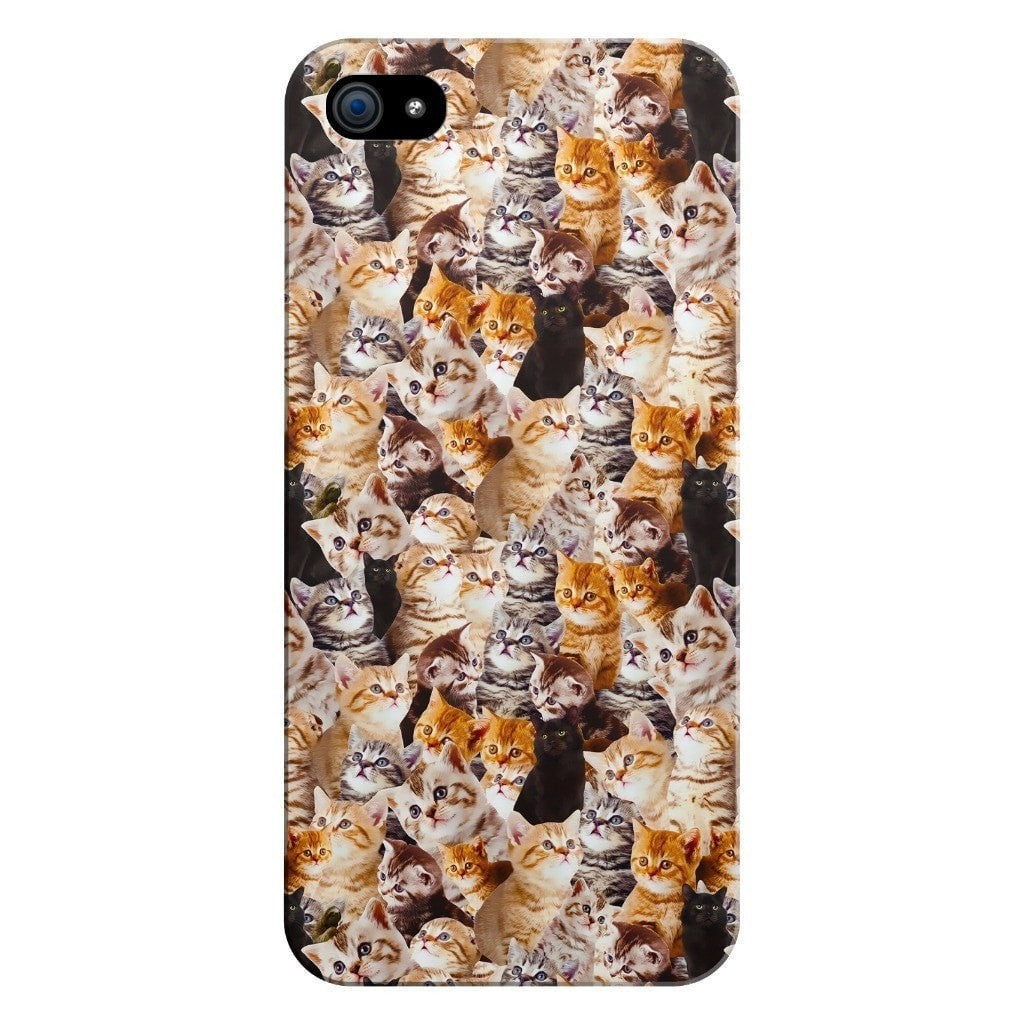Kitty Invasion Smartphone Case-Gooten-iPhone 5/5s/SE-| All-Over-Print Everywhere - Designed to Make You Smile