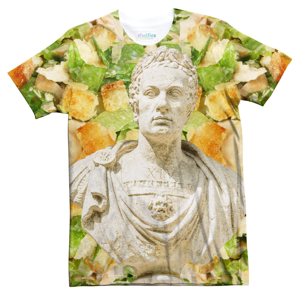 Caesar XVI Salad T-Shirt-kite.ly-| All-Over-Print Everywhere - Designed to Make You Smile