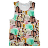 Ice Cream Invasion Tank Top-kite.ly-| All-Over-Print Everywhere - Designed to Make You Smile