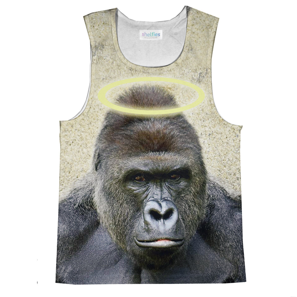 RIP Harambe Tank Top-kite.ly-| All-Over-Print Everywhere - Designed to Make You Smile
