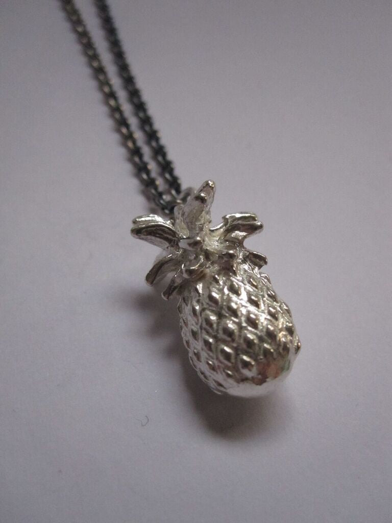 925 Silver Pineapple Necklace