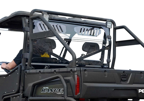 SuperATV Polaris Ranger XP 500/700/800 Rear Windshield
