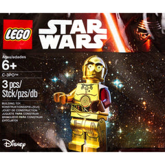 Lego C3PO Red Arm Minifigure 5002948 Star Wars
