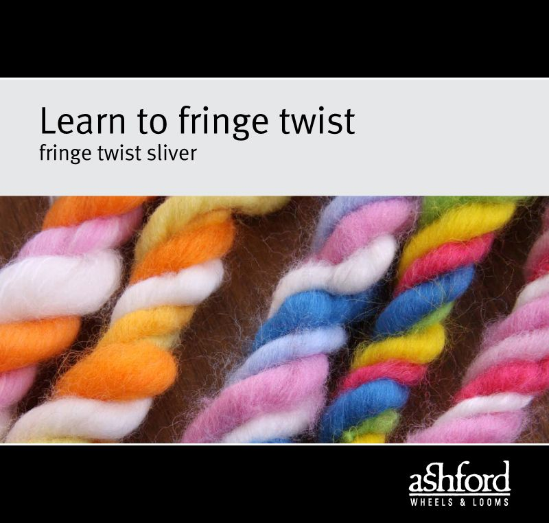 Learn to Fringe Twist Sliver - Digital PDF