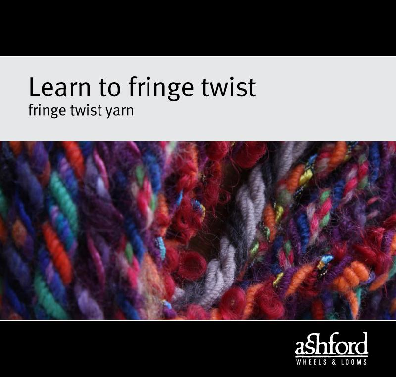 Learn to Fringe Twist Yarn - Digital PDF